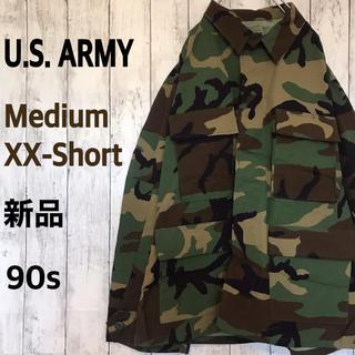 【希少サイズ】米軍 新品 迷彩ジャケット 90s BDU ウッドランド カモ (ミリタリージャケット)