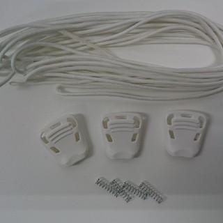 DEELUXEブーツ専用パーツ WHITE(ブーツ)