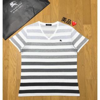 バーバリー(BURBERRY)の一回着用【日本製】バーバリーブラックレーベル Tシャツ3(Tシャツ/カットソー(半袖/袖なし))