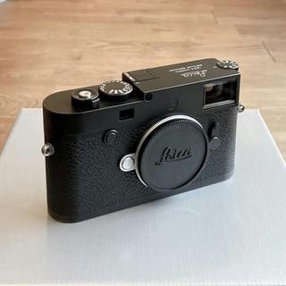 ライカ(LEICA)のLeica M10-P [美品] ライカ  ブラック(ミラーレス一眼)