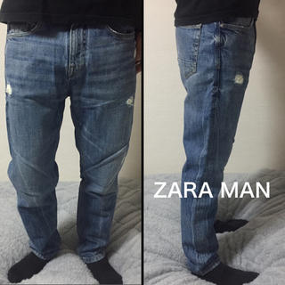 ザラ(ZARA)の《 ZARA MAN 》ザラ マン プレミアム デニム テーパード (デニム/ジーンズ)