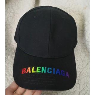 Balenciaga - 夏コーデ★虹ロゴ バレンシアガ キャップ 帽