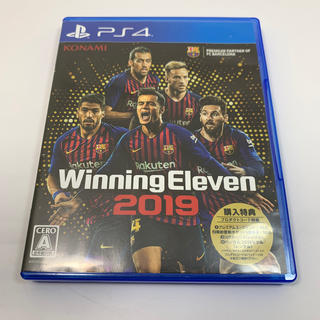 PlayStation4 - ウイニングイレブン 2019 PS4