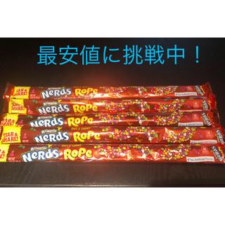 Nestle - 【安値に挑戦】ナーズロープ ロープグミNerds Rope5本セット