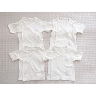 ユニクロの綿100%の短肌着(50-60サイズ)