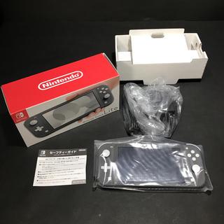 ニンテンドースイッチ(Nintendo Switch)のNintendo Switch Liteグレー(家庭用ゲーム機本体)
