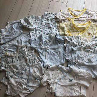 ニシマツヤ(西松屋)のベビー 肌着 12枚セット(肌着/下着)