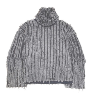 yproject 16aw oversized denim pullover