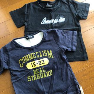 コムサイズム(COMME CA ISM)のCOMME CA ISM 半袖Tシャツ2枚セット(╹◡╹)90㎝(Tシャツ/カットソー)