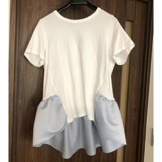 Drawer - ヨーコチャン yokochan ペプラムTシャツ 40