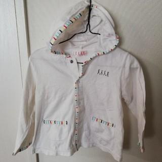 エル(ELLE)のエル 95 パーカー 白 男女兼用(Tシャツ/カットソー)
