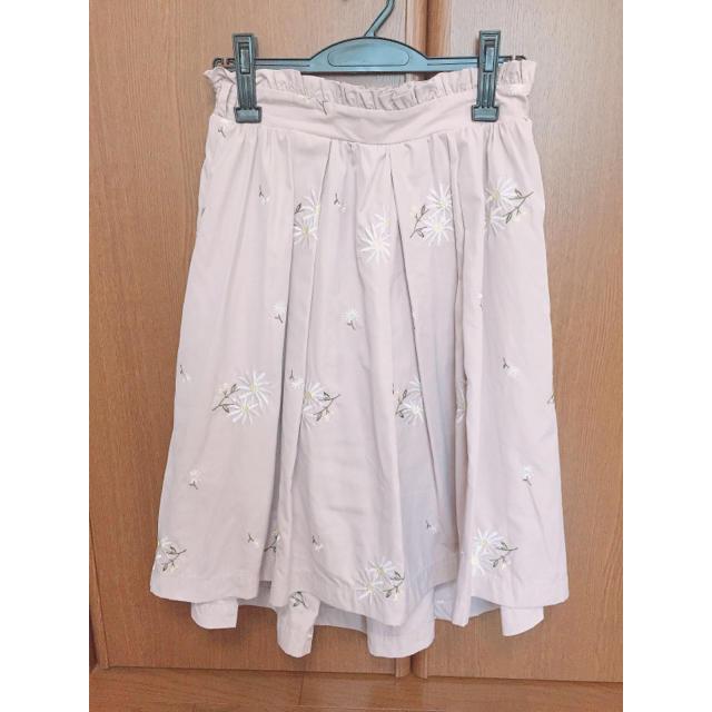 LIZ LISA(リズリサ)のリズリサ 花柄 フィッシュテールスカート レディースのスカート(ひざ丈スカート)の商品写真