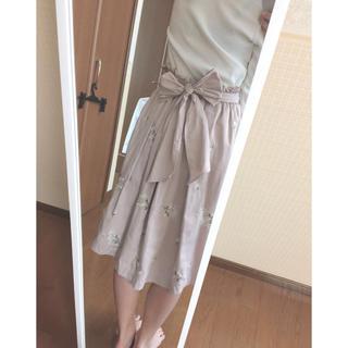 リズリサ(LIZ LISA)のリズリサ 花柄 フィッシュテールスカート(ひざ丈スカート)