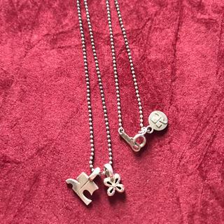 クレージュ(Courreges)のクレージュ シルバー&k18 ネックレス(ネックレス)