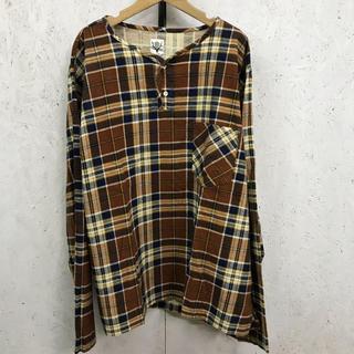 エスツーダブルエイト(S2W8)のSouth2West8 スリーピングシャツ プルオーバーチェックシャツ(Tシャツ/カットソー(七分/長袖))