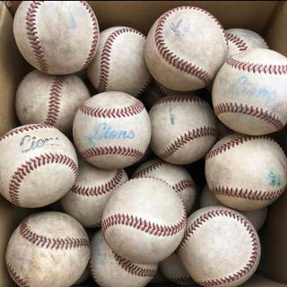 埼玉西武ライオンズ - プロ野球公認 硬式 練習ボール 58個 ライオンズ