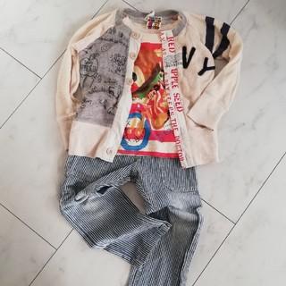 ジャム(JAM)のjam 100 アップルシード ヒッコリー Tシャツ カーディガン(Tシャツ/カットソー)