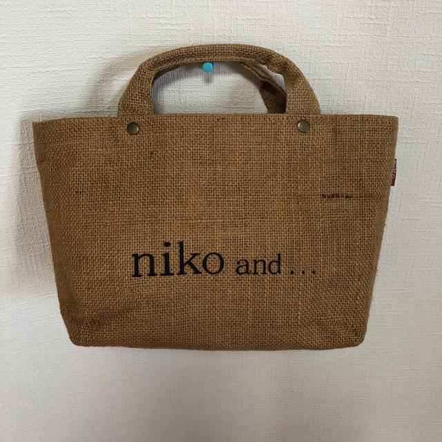 niko and...(ニコアンド)のニコアンド トートバッグ 麻 レディースのバッグ(トートバッグ)の商品写真