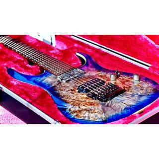アイバニーズ(Ibanez)の当たり 木目 Ibanez rg 1027 PBF 7弦ギター(エレキギター)