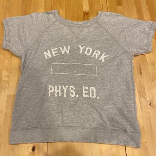 シップス(SHIPS)のSHIPS シップス NEWYORKロゴ スウェットTシャツ(Tシャツ(半袖/袖なし))