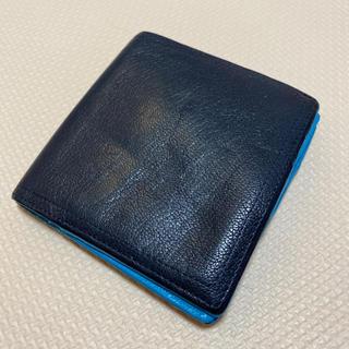 ポーター(PORTER)の二つ折り財布 ユナイテッドアローズビューティー ポーター コラボ 紺 青(折り財布)