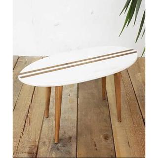 サーフボードミニテーブル 木製(ローテーブル)