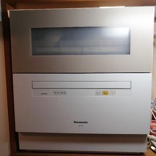 パナソニック(Panasonic)の[専用]Panasonic食洗機(美品) np-th1-c(食器洗い機/乾燥機)
