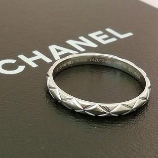 シャネル(CHANEL)のPt950 CHANEL ©️シャネル マトラッセ #58 シンプルリング(リング(指輪))