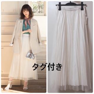 GRL - GRL ♡ サテン×チュールレイヤードプリーツスカート 西野七瀬ちゃん着用