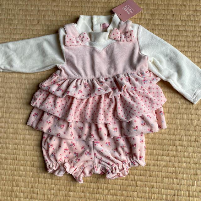 女の子 80  セットアップ キッズ/ベビー/マタニティのベビー服(~85cm)(その他)の商品写真