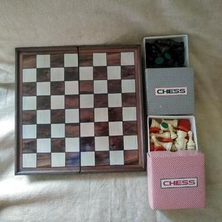 チェスセット 中古品(オセロ/チェス)