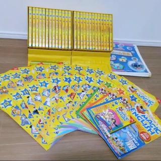 美品 DWE CD付き ディズニーマジックイングリッシュ 全26巻DVDテキスト