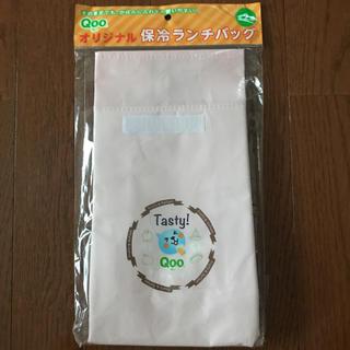 コカコーラ(コカ・コーラ)のQoo オリジナル 保冷ランチバッグ 薄ピンク(弁当用品)