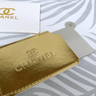 シャネル(CHANEL)のCHANEL カード ミラー コンパクトミラー 鏡 シャネル (ミラー)