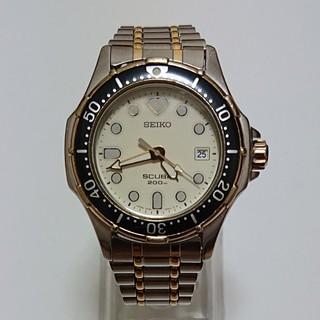 セイコー(SEIKO)の【SEIKO/SCUBA】クオーツ/メンズ腕時計 200M 7N35-600A(腕時計(アナログ))