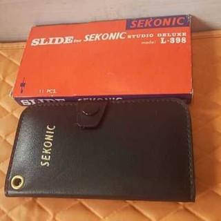 スライドセコニック、studio Deluxe.L-398(露出計)