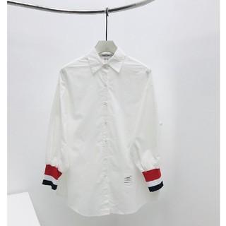 トムブラウン(THOM BROWNE)のThom Browne シャツ ホワイト(シャツ)
