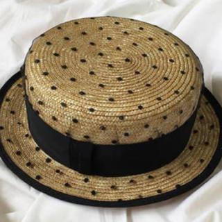Maison de Reefur - ♡カンカン帽 ドットチュール♡