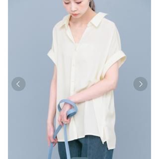 ケービーエフ(KBF)の★スキッパーシャツ チュニック★(シャツ/ブラウス(半袖/袖なし))
