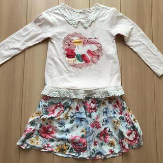 Old Navy - 上下セット!ロンT★スカート★サイズ120★女の子