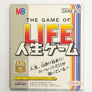 ゲームボーイ(ゲームボーイ)のGB 人生ゲーム(携帯用ゲームソフト)