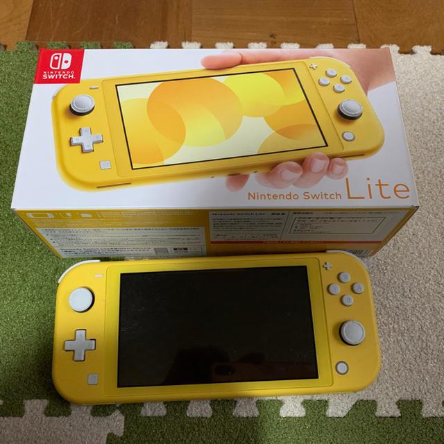 Nintendo Switch(ニンテンドースイッチ)の任天堂スイッチライト イエロー エンタメ/ホビーのゲームソフト/ゲーム機本体(携帯用ゲーム機本体)の商品写真