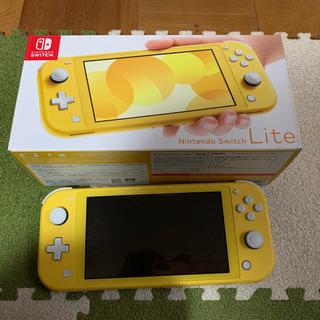 Nintendo Switch - 任天堂スイッチライト イエロー