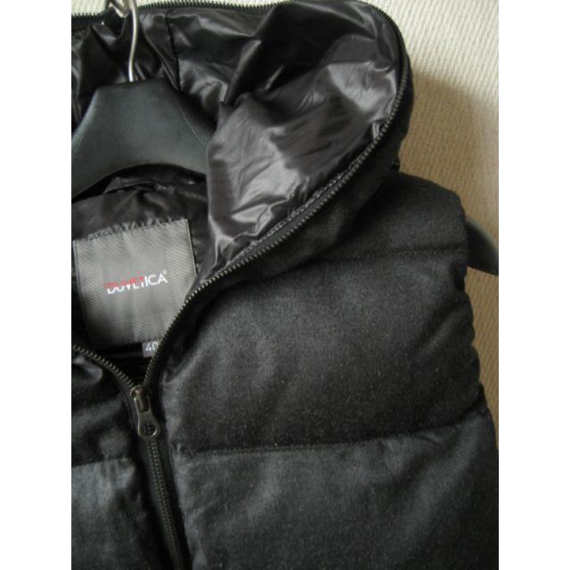 DUVETICA(デュベティカ)のDUVETICA  ウール FEBEDUE ダウンベスト 40 ダークグレー レディースのジャケット/アウター(ダウンベスト)の商品写真