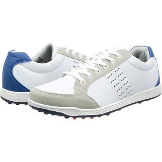 アサヒゴルフ(朝日ゴルフ)の ゴルフ スパイクレスシューズ メンズ 25.5cm ホワイト 軽量 3.5E(シューズ)