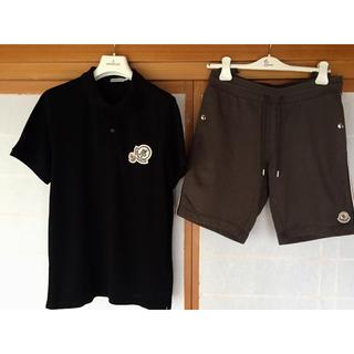 モンクレール(MONCLER)の2018ss モンクレール ポロシャツ&パンツ セット サイズM(ポロシャツ)