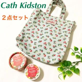 Cath Kidston - 美品✨【Cath Kidston】リップバター+ミニトート 2点セット