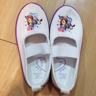 ディズニー(Disney)の上履き 16cm ソフィア Disney(スクールシューズ/上履き)