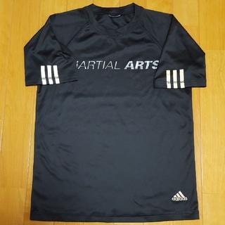 アディダス(adidas)のTシャツadidas  黒    160(Tシャツ/カットソー)