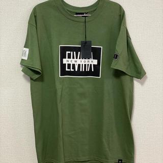 エルヴィア(ELVIA)のエルビア tシャツ L 新品 タグ付き(Tシャツ/カットソー(半袖/袖なし))